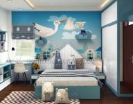 Thiết kế và thi công lắp đặt nội thất Nhà Mr Thắng + Ms Huyền tại Cổ Nhuế