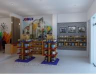 Thiết kế Văn phòng làm việc của công ty  sơn Jonux  – Tân Tây Đô