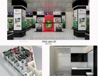 Thiết kế nội thất Showroom, Tầng 1 – Siêu Thị Điện Máy