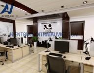 Thiết kế nội thất và thi công lắp đặt nhà Văn Phòng ACQ