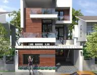 Thiết kế kiến trúc nhà Lô phố của Anh Minh – Ao Sen – Hà Đông