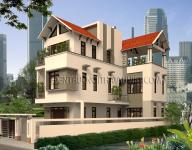 Thiết kế kiến trúc nhà Biệt thự của Anh Dũng – Gia Lâm