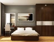 Thiết kế & thi công nội thất phòng Khách sạn tại Cửa Bắc – Hà Nội