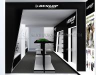 Thiết kế Showroom DUNLOP