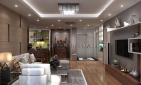 Thiết kế nội thất căn hộ chung cư cao cấp có 3 phòng ngủ