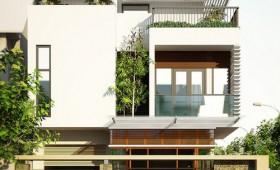 Những mẫu thiết kế kiến trúc nhà liền kề, nhà lô phố đẹp