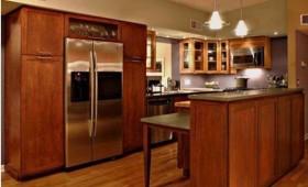 Thiết kế nội thất chung cư  với nội thất bằng gỗ tự nhiên