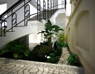 Thiết kế cải tạo kiến trúc và thiết kế nội thất nhà Biệt thự tại Âu Cơ – Hà Nội