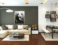 Thiết kế & thi công nội thất Căn hộ chung cư nhà chị Vân Anh – Star Tower