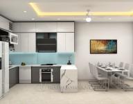 Tủ Bếp nhà chị Nga – Nguyễn Khuyến, Hà Đông