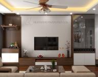 Thiết kế thi công nội thất chung cư anh Diệu –  Imperia Sky  Garden 423 Minh Khai